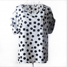 Blusa Estampado - Formas