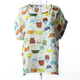 Blusa Estampado - Bolsos
