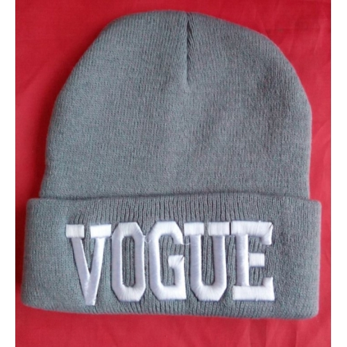 Gorro Vogue Gris