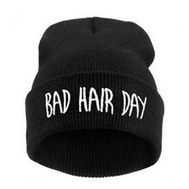 Gorro Bad Hair Day - Negro