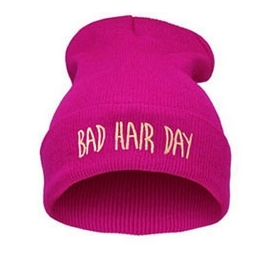 Gorro Bad Hair Day - Rosa