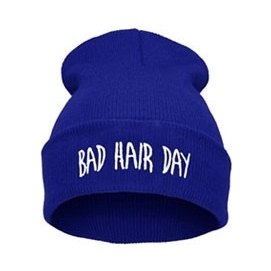 Gorro Bad Hair Day - Azul