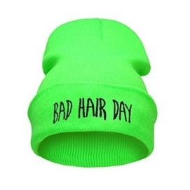 Gorro Bad Hair Day - Verde Fluor
