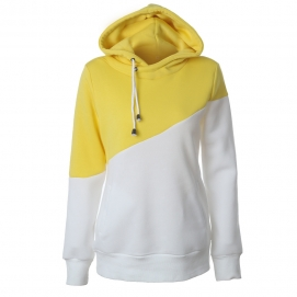 Sudadera Amarillo y Blanco