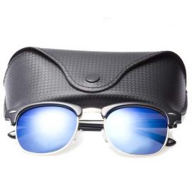 RB Clubmaster Sunglasses (Polarized) - Blue