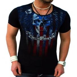 Camiseta Calavera Negro