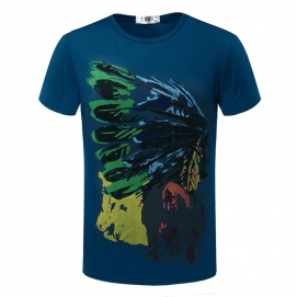 Camiseta Indio Azul