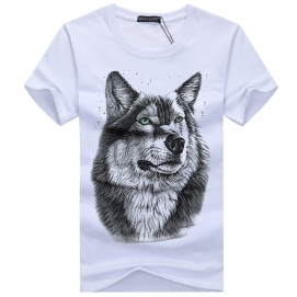 Camiseta Lobo Blanco