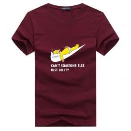 Camiseta NK Homer Burdeos