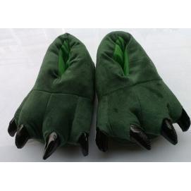 Zapatillas Garra Verde Oscuro