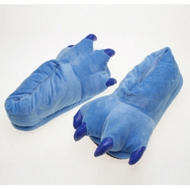 Blue Paw Slippers