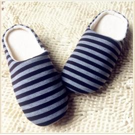 Zapatillas Rayas Azul Marino