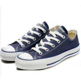 Zapatillas Convrs Allstars Chuck Taylor Azul Marino (Altas)