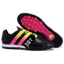 Zapatillas AD ACE 16.2 TF Messi Negro y Rosa