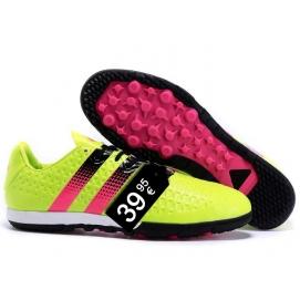 Zapatillas AD ACE 16.2 Messi TF Amarillo Fluor y Rosa