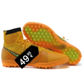 Botas NK Elastico Superfly TF Amarillo