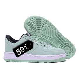 Zapatillas NK Air Force 1 Turquesa (Bajas)