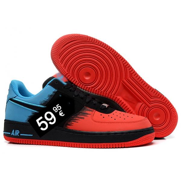 air force 1 rojo