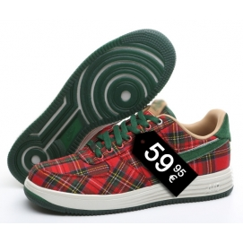 Zapatillas NK Air Force 1 Tartan (Bajas)