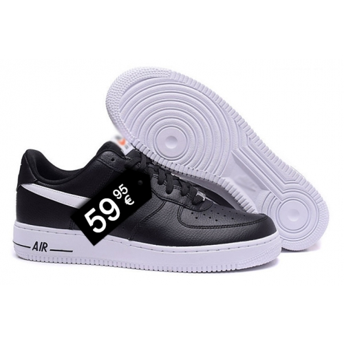 Zapatillas NK Air Force 1 Negro (Bajas)