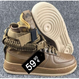 Zapatillas NK Special Forces Air Force 1 Marrón