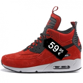Zapatillas NK Airmx 90 Sneakerboot Rojo