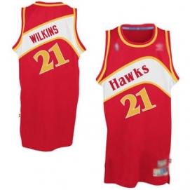 Camiseta AD Atlanta Hawks Wilkins 2ª Equipación