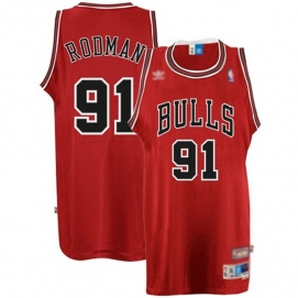 Camiseta Chicago Bulls Rodman 2ª Equipación