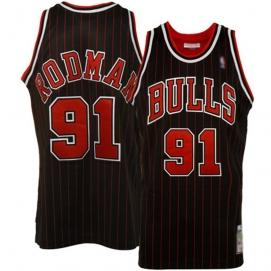 Camiseta Chicago Bulls Rodman 3ª Equipación