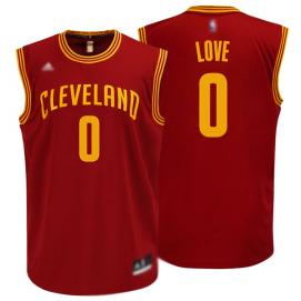 Camiseta Cleveland Cavaliers Love 2ª Equipación