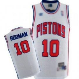 Camiseta Detroit Pistons Rodman 1ª Equipación