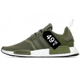 Zapatillas AD NMD R1 Verde Militar