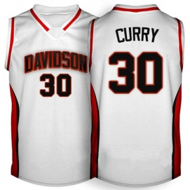 Camiseta Davidson Wildcats Curry