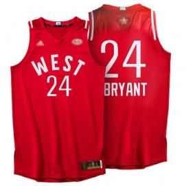 Camiseta NBA All-Star Conferencia Oeste 2016 Bryant