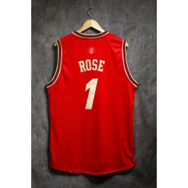 Camiseta Navidad 2015 Chicago Bulls Rose