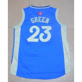 Camiseta Navidad 2015 Golden State Warriors Green