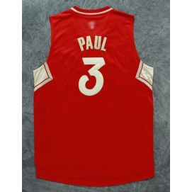Camiseta Navidad 2015 Los Angeles Clippers Paul