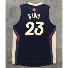 Camiseta Navidad 2015 New Orleans Pelicans Davis