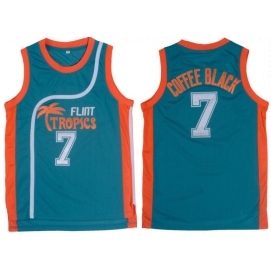 Camiseta Semi-Pro - Flint Tropics Coffee Black
