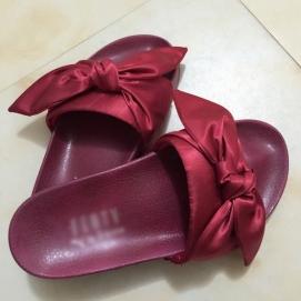 Zapatillas PMA Bandana Slide Granate