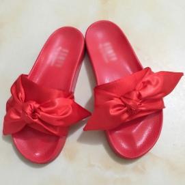Zapatillas PMA Bandana Slide Rojo