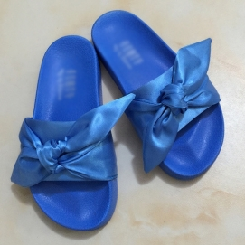 Zapatillas PMA Bandana Slide Azul