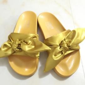 Zapatillas PMA Bandana Slide Amarillo