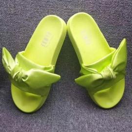 Zapatillas PMA Bandana Slide Verde Pistacho