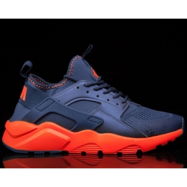 Zapatillas NK Air Huarache Ultra Azul y Naranja