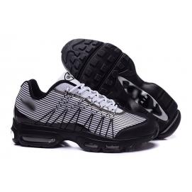 Zapatillas NK Air max 95 Ultra Blanco y Negro (Rayas)