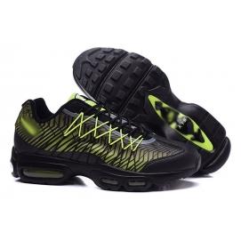Zapatillas NK Air max 95 Ultra Negro y Verde Fluor