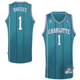 Camiseta Charlotte Hornets Bogues 1ª Equipación 1991