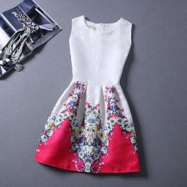Vestido Estampado Verano-Otoño