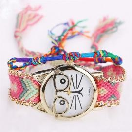 Reloj de Pulsera Bohemio - Gato